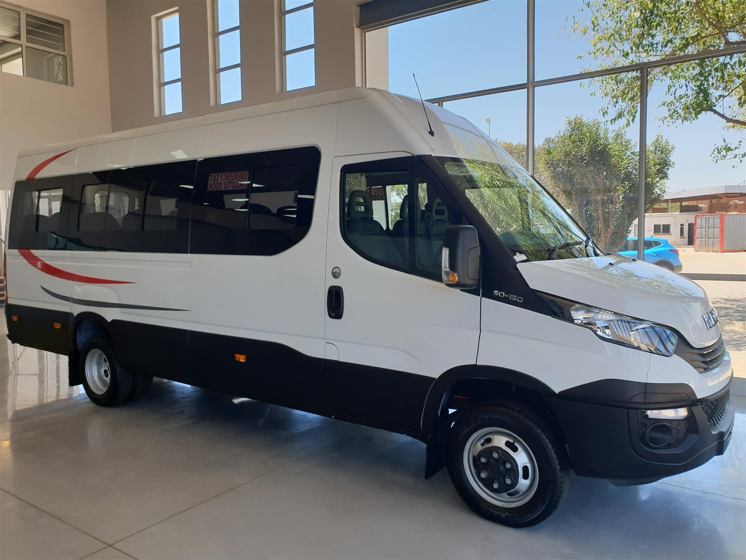 New Iveco 22 Seater Taxi
