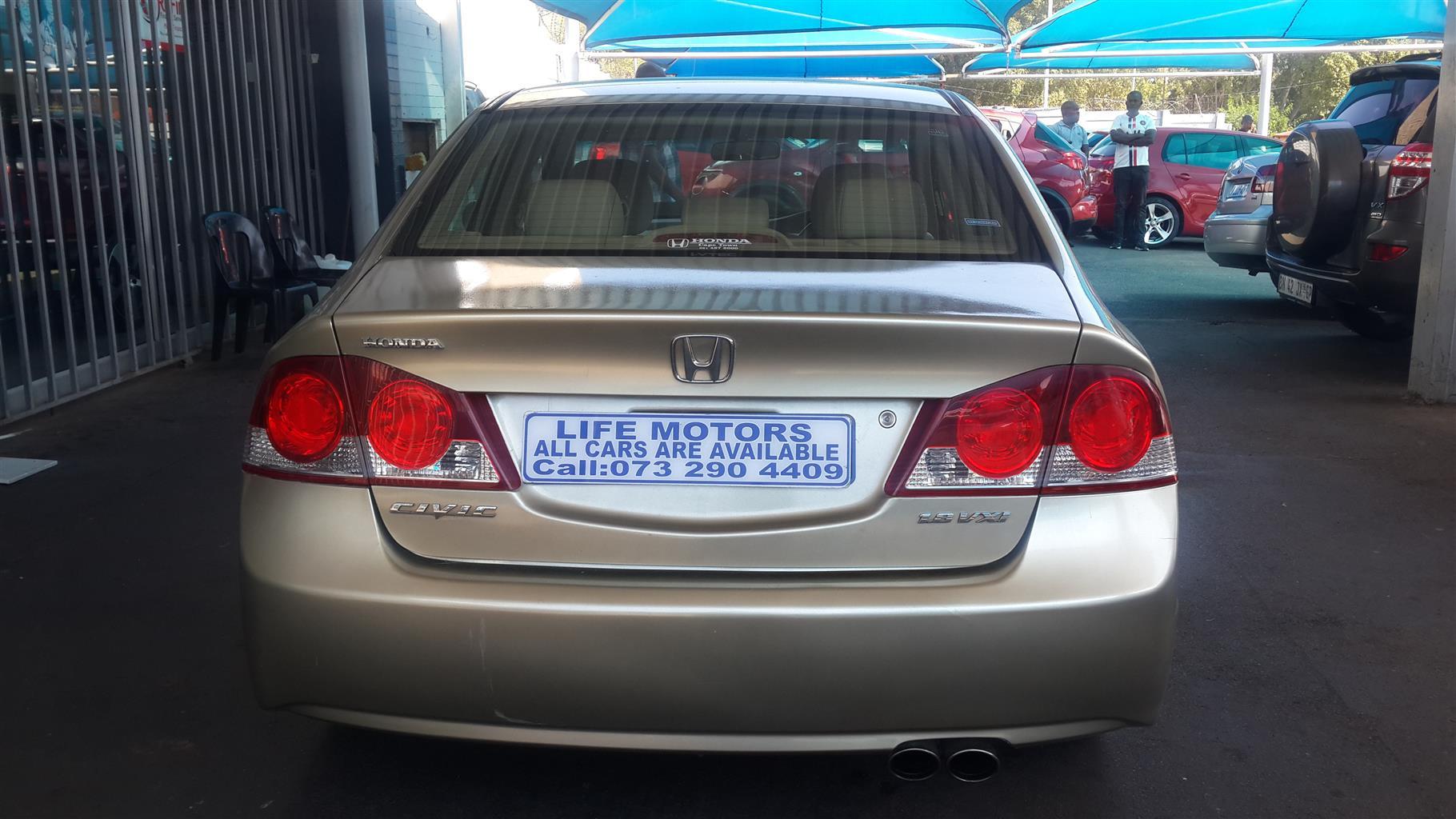 2008 Honda Civic sedan 1.8 VXi