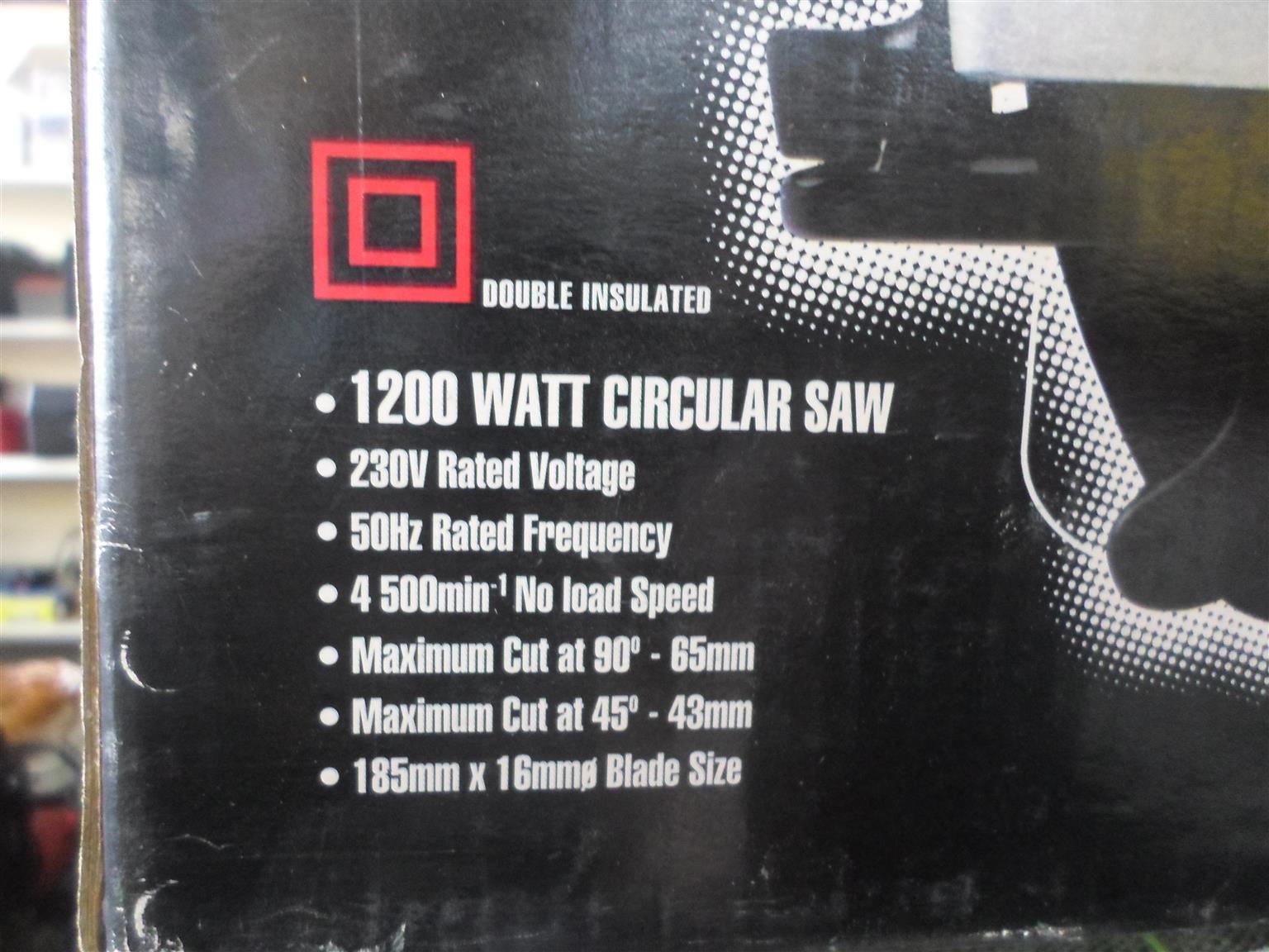 1200W Torq Circular Saw
