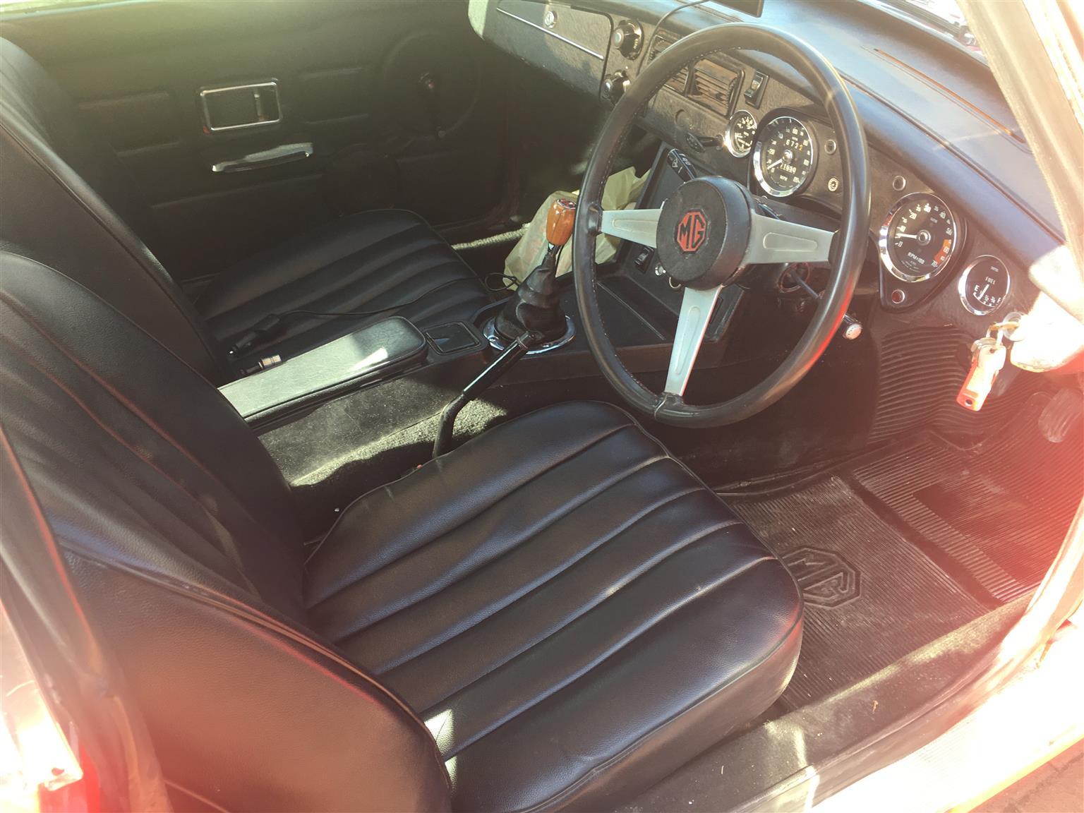 1975 MG MGB/GT