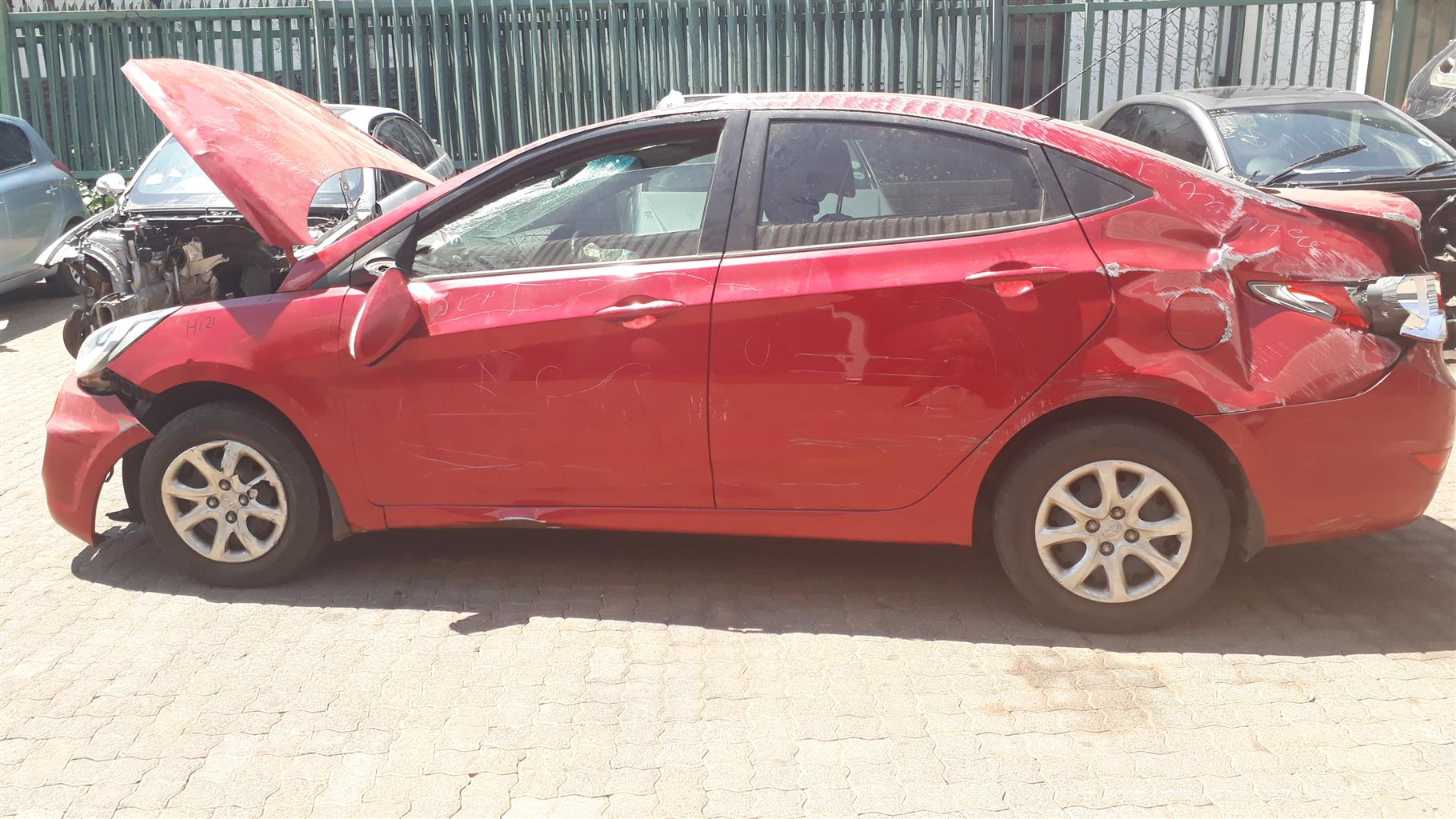 HYUNDAI ACCENT Spare Parts Sedan