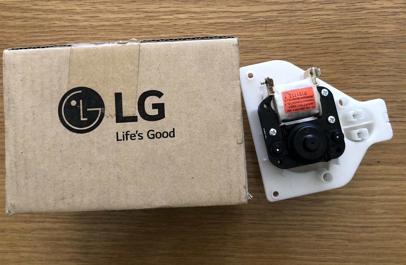 Original LG Tumble dryer water pump