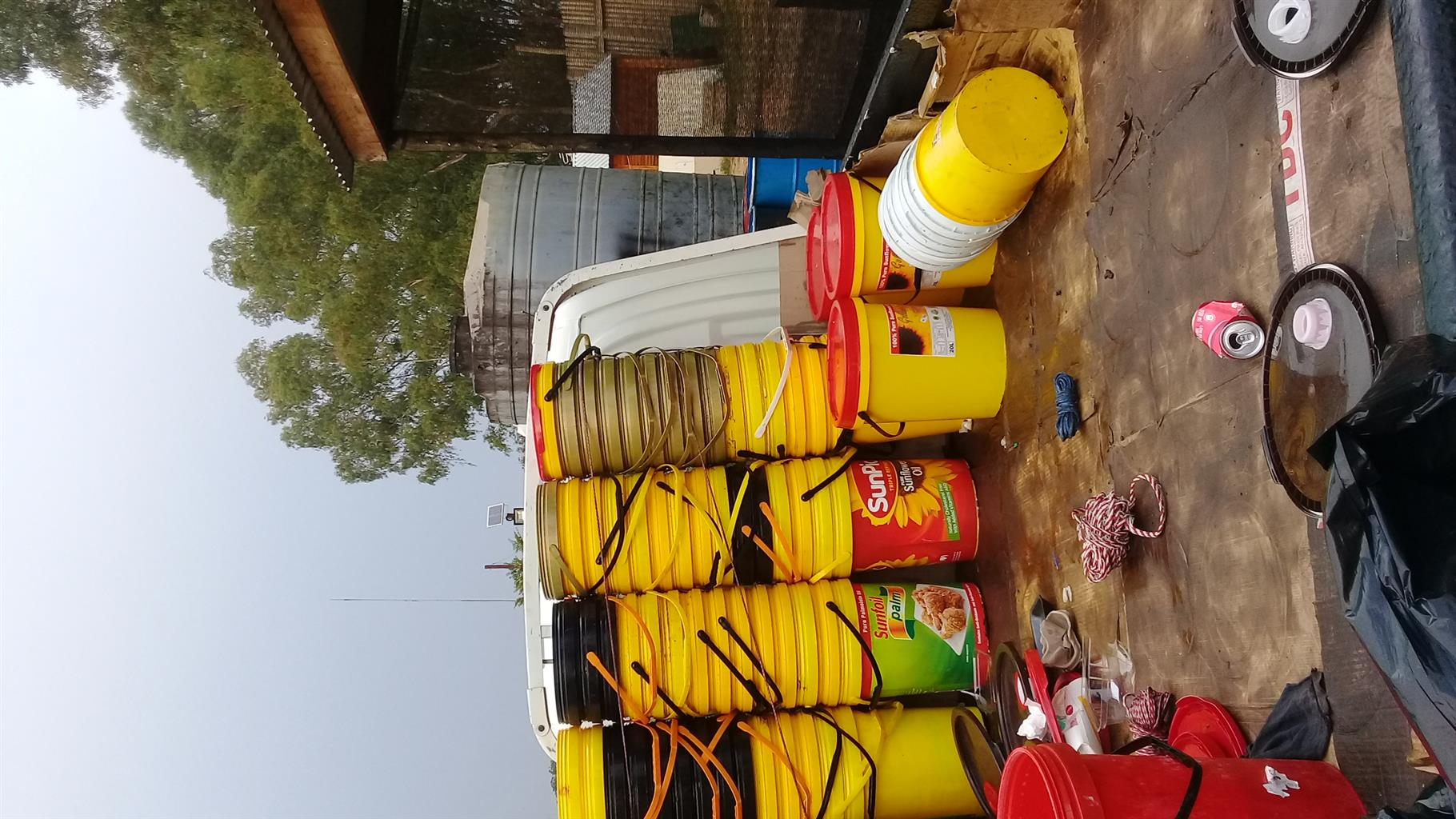 20litre second hand  buckets 4 sell