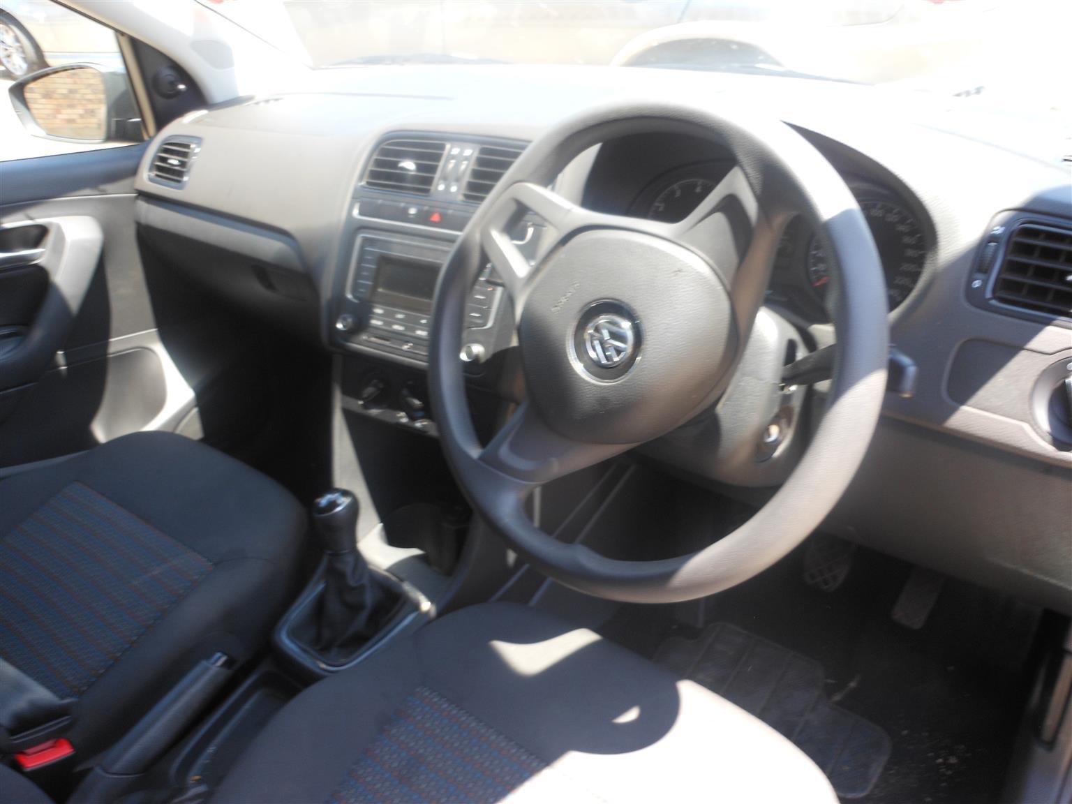2019 VW Polo Vivo 5 door 1.4 Trendline