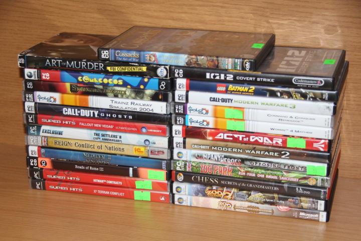 PC ORIGINAL games sold separately