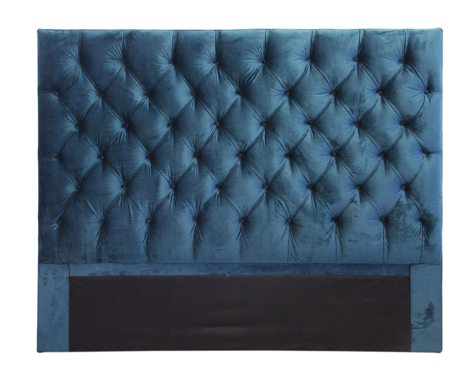 Emerald green Monarch Queen size headboard