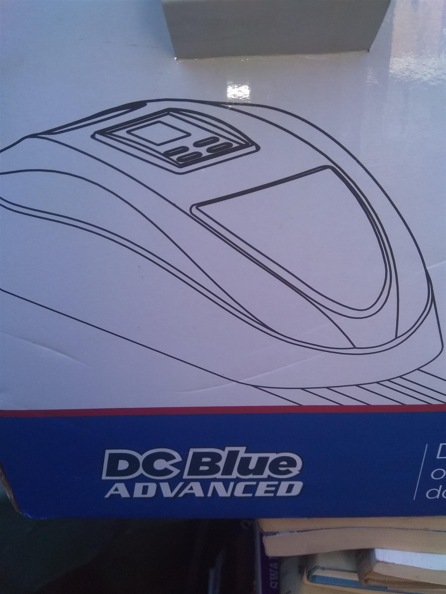 DC Blue Garage Door Motor