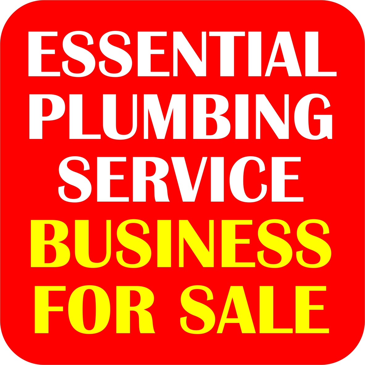 Essential plumbing service business for sale