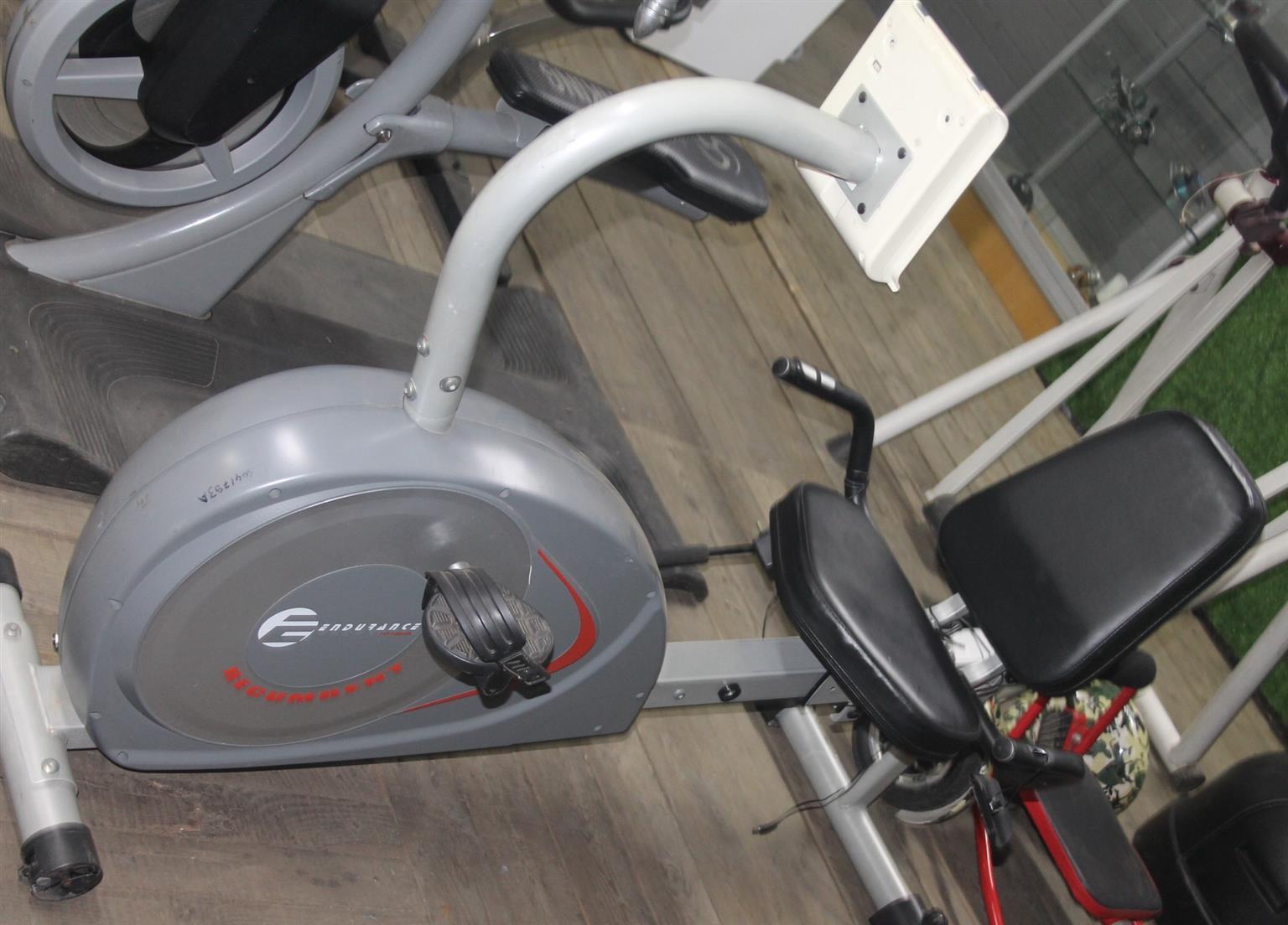 Endurance exercise bike S041783A #Rosettenvillepawnshop