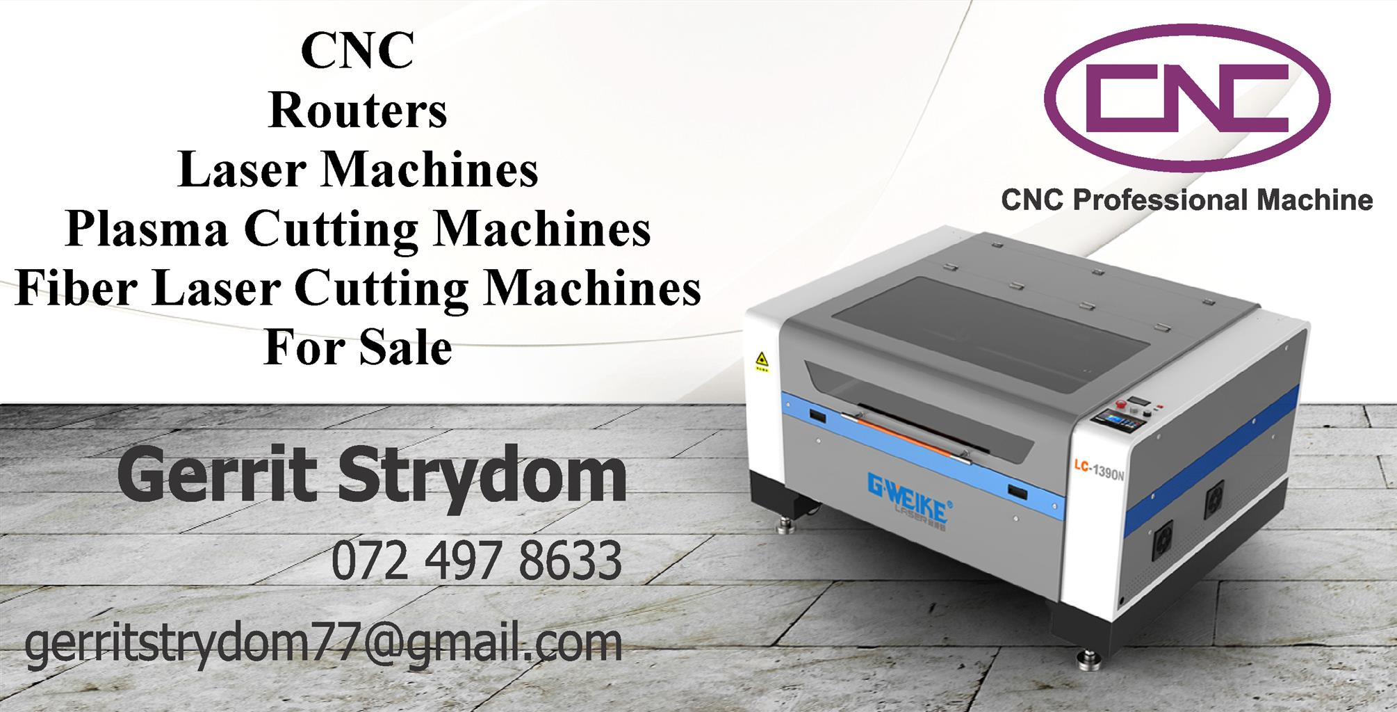 CNC Router Plasma Laser Fiber Machines For Sale