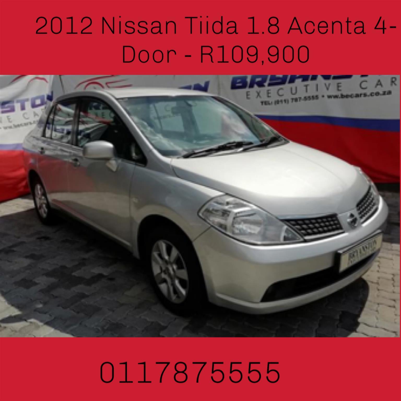 2012 Nissan Tiida hatch 1.8 Acenta