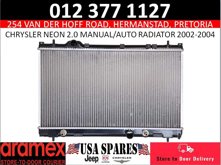 Chrysler Neon 2.0 manual/automatic radiator 2002-2004