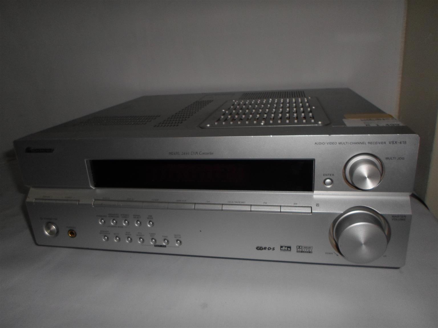 Pioneer VSX-415-S Multi Channel Receiver