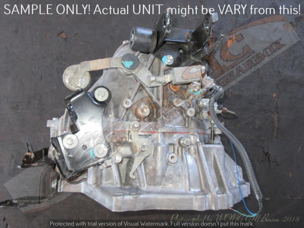 TOYOTA 2ZR 6 SPEED MT FWD Gearbox
