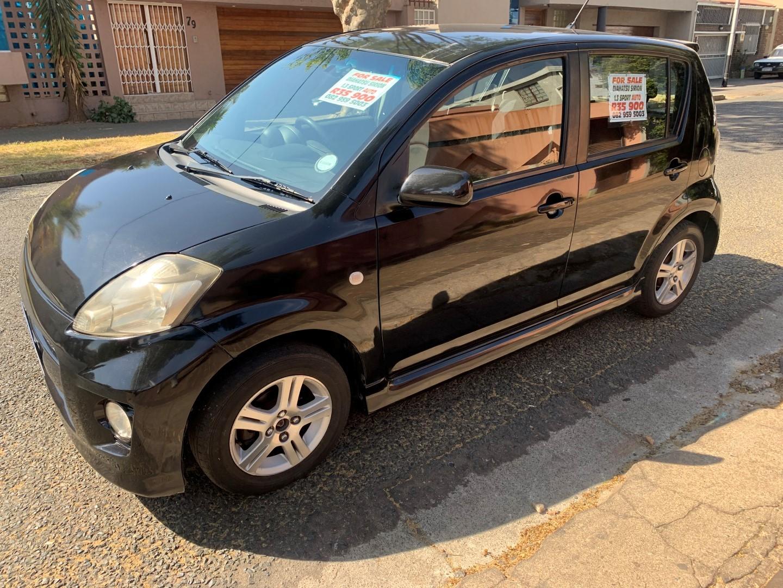 2007 Daihatsu Sirion 1.3 automatic