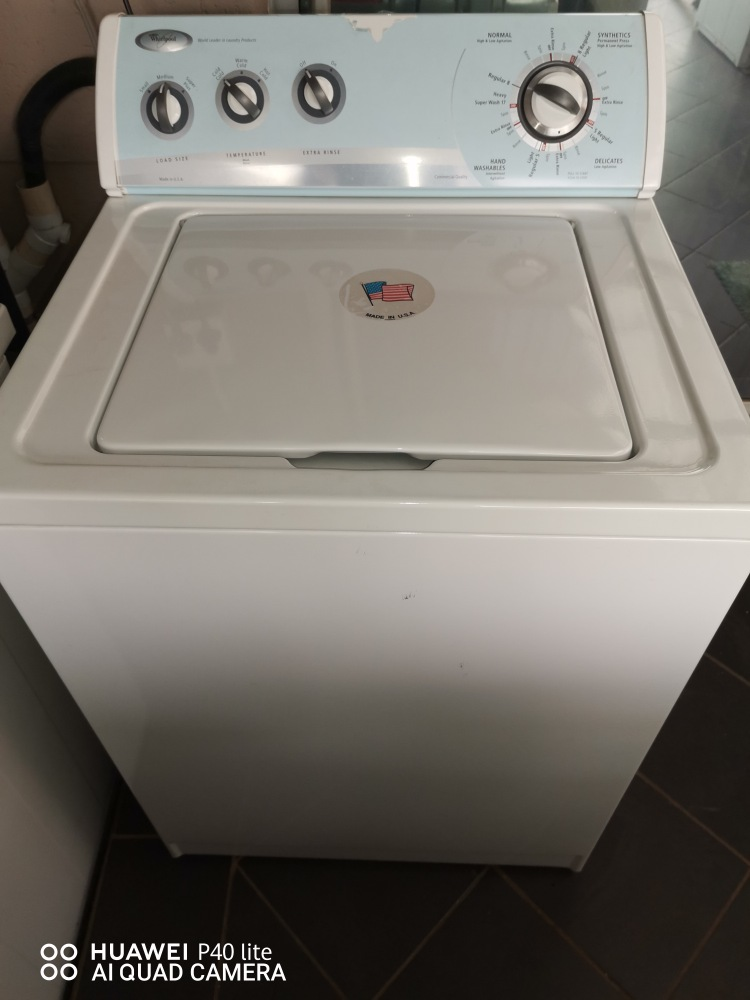 PERFECT!!! WHIRLPOOL FULLY REFURBISHED – EXCELLENT CONDITION - WASHING MACHINE