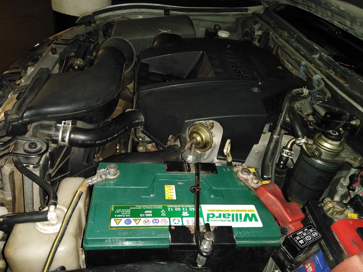 2001 Mitsubishi Pajero 5 door 3.2DI D GLS