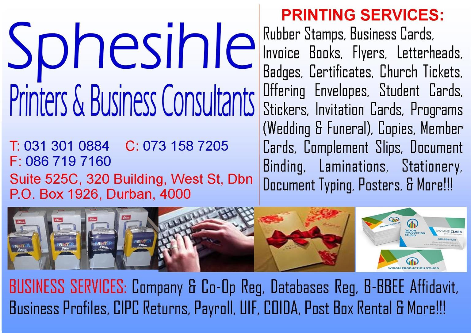 Printing business services junk mail printing business services reheart Choice Image