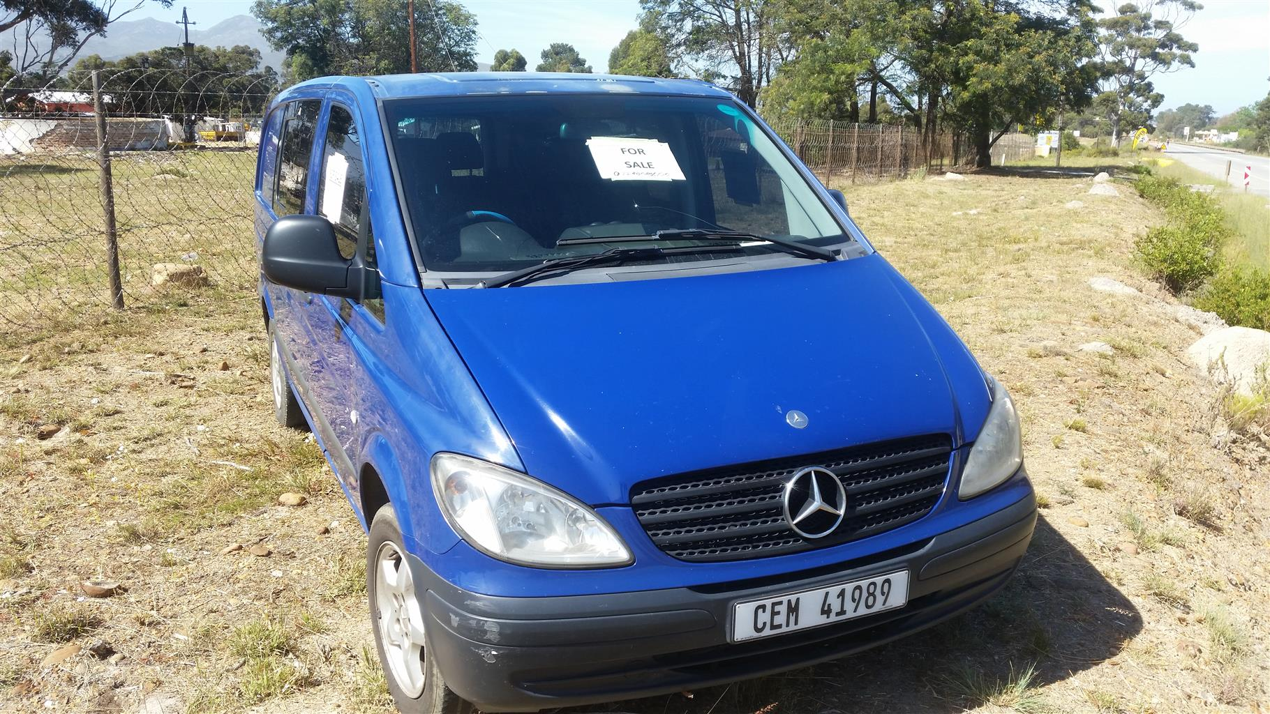 2006 Mercedes Benz Vito 115 CDI 2.2 crew cab