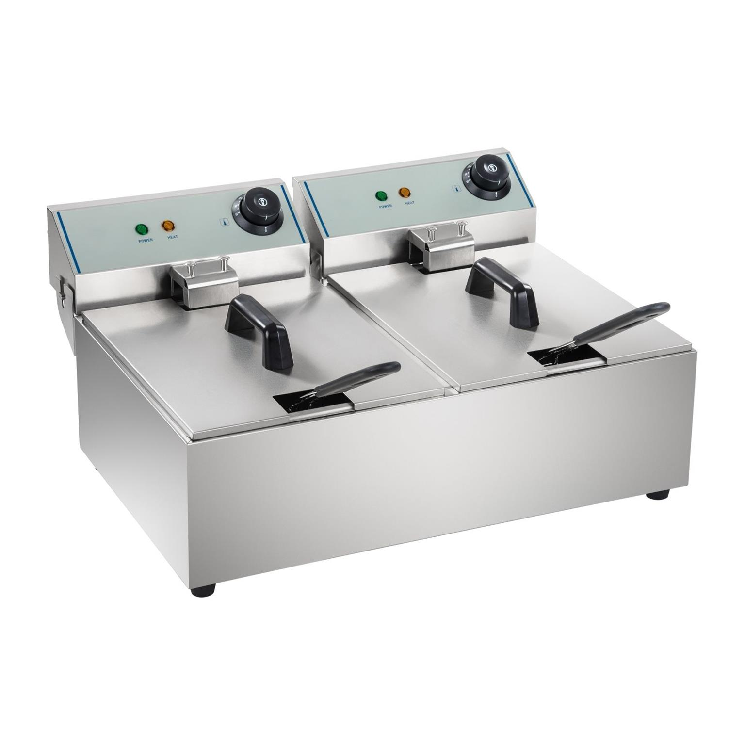 Double Fryer Electric