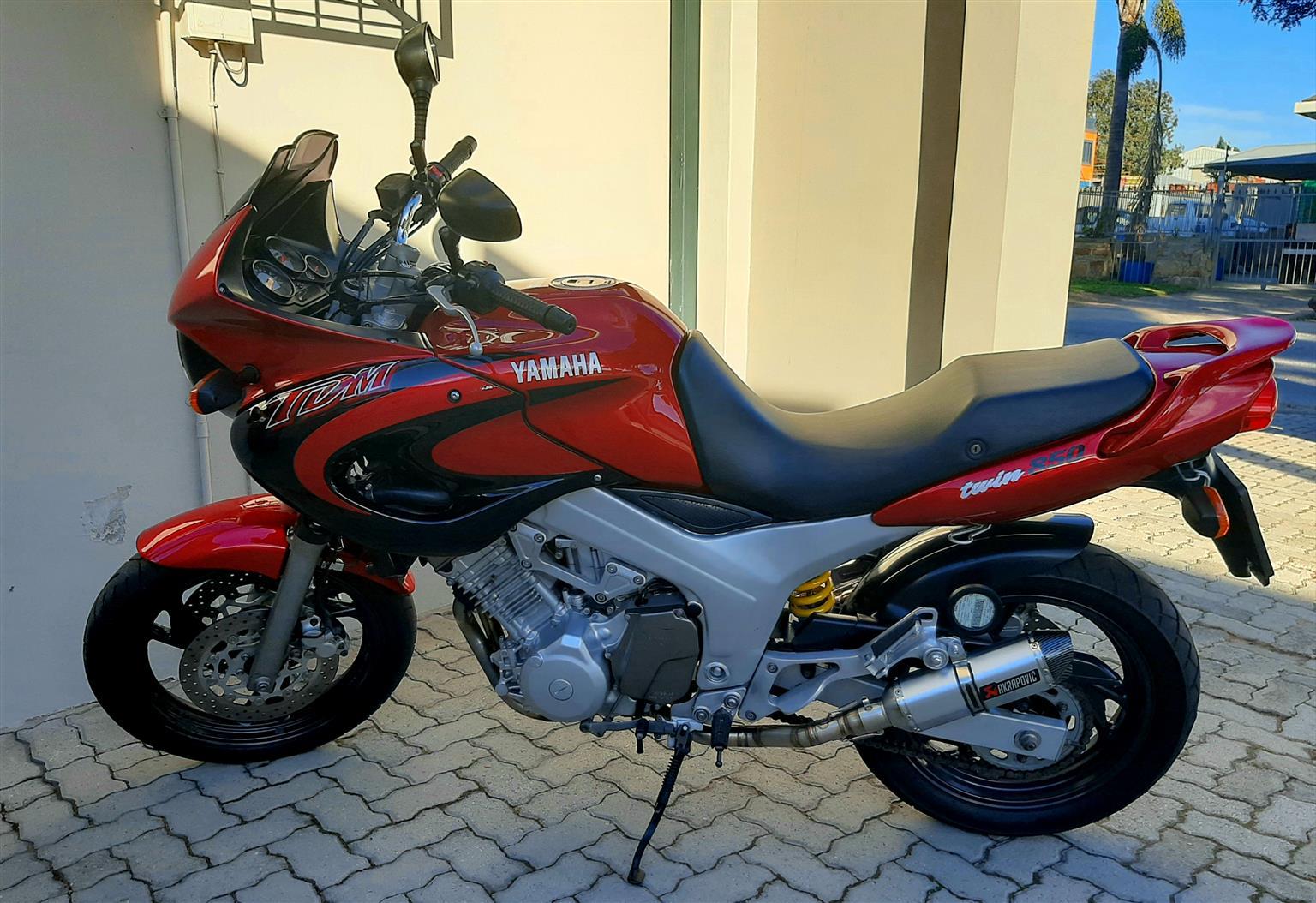 Yamaha 850 Twin TDM