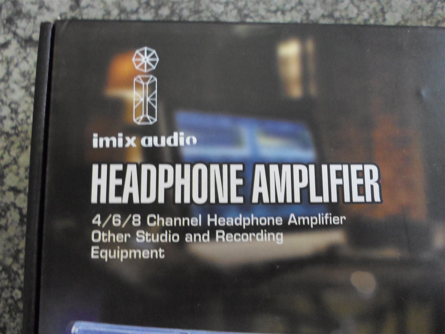Imix Audio Headphone Amplifier