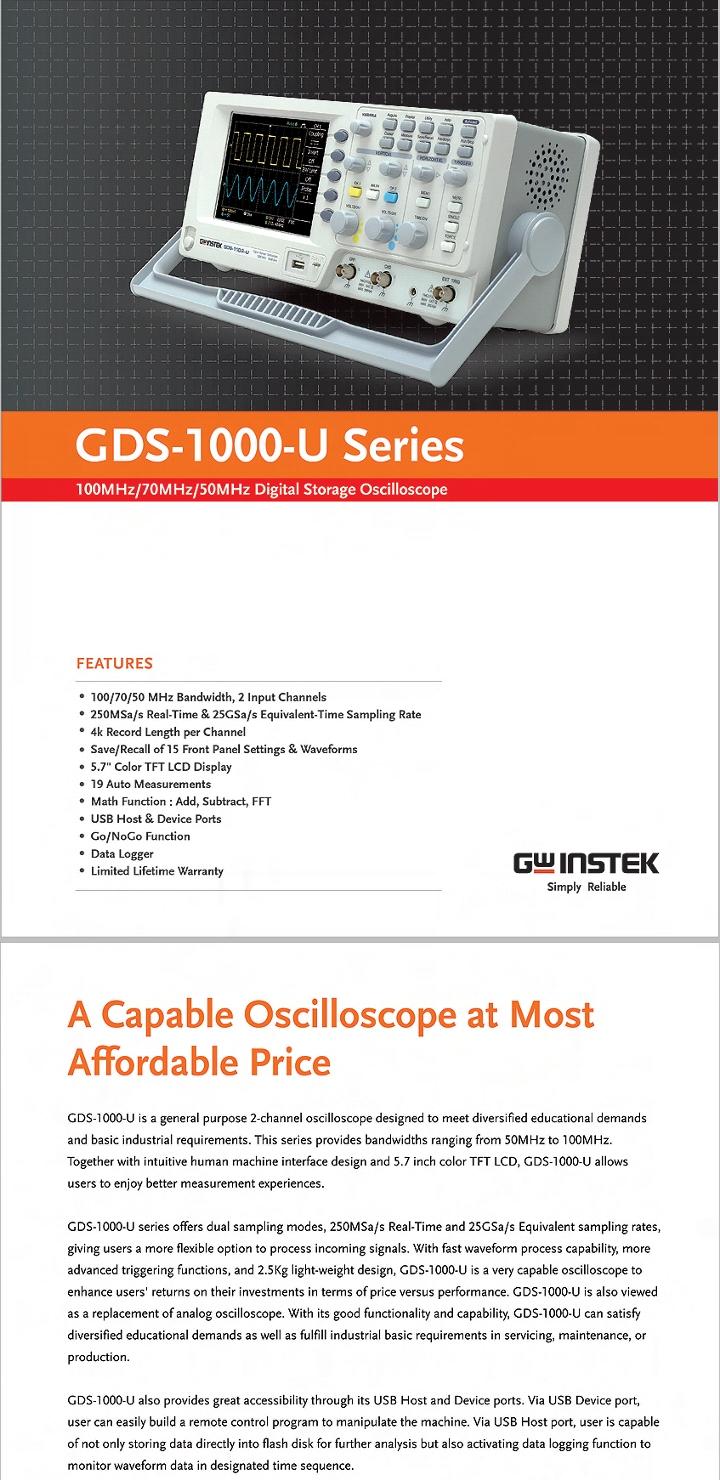 Oscilloscope for sale