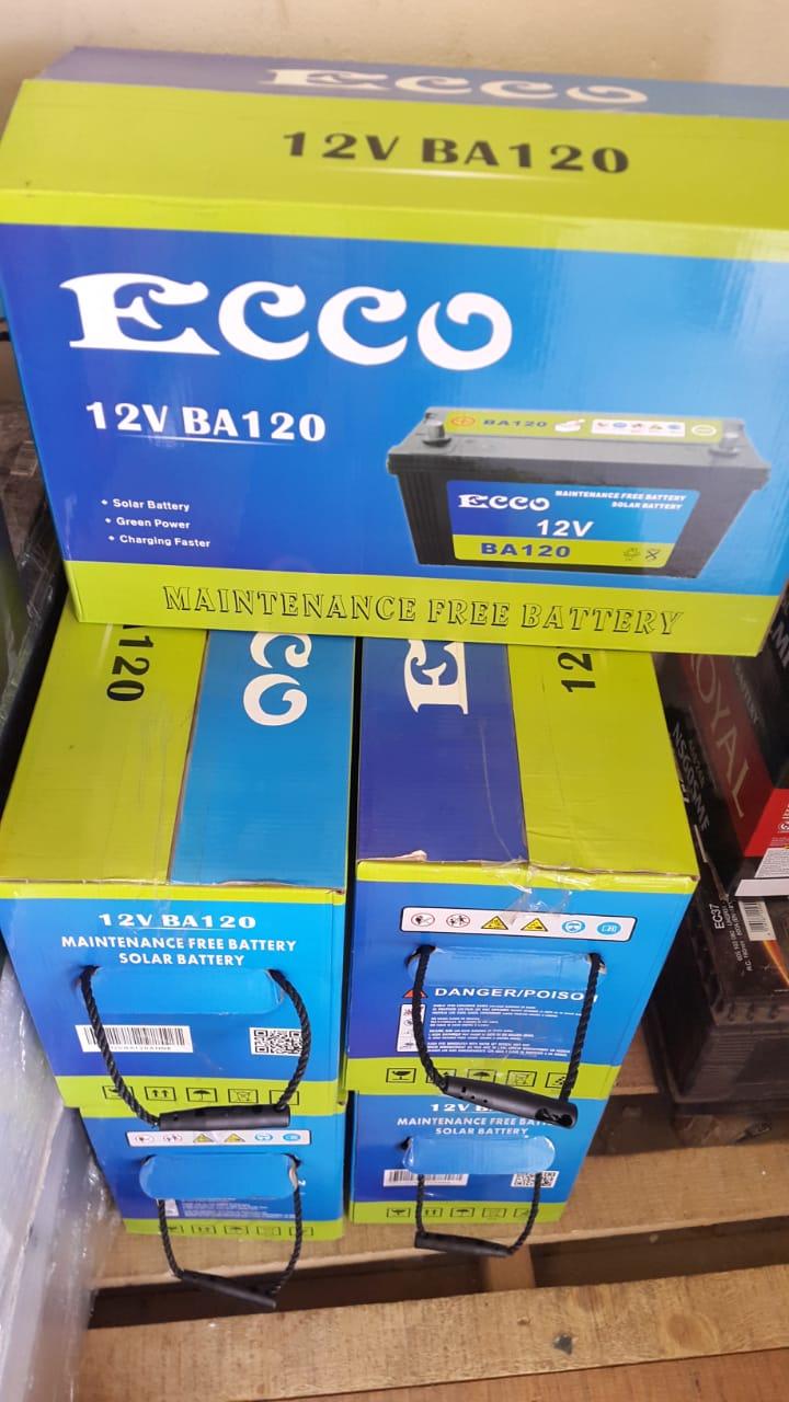 Ecco (120ah) Deep Cycle Battery