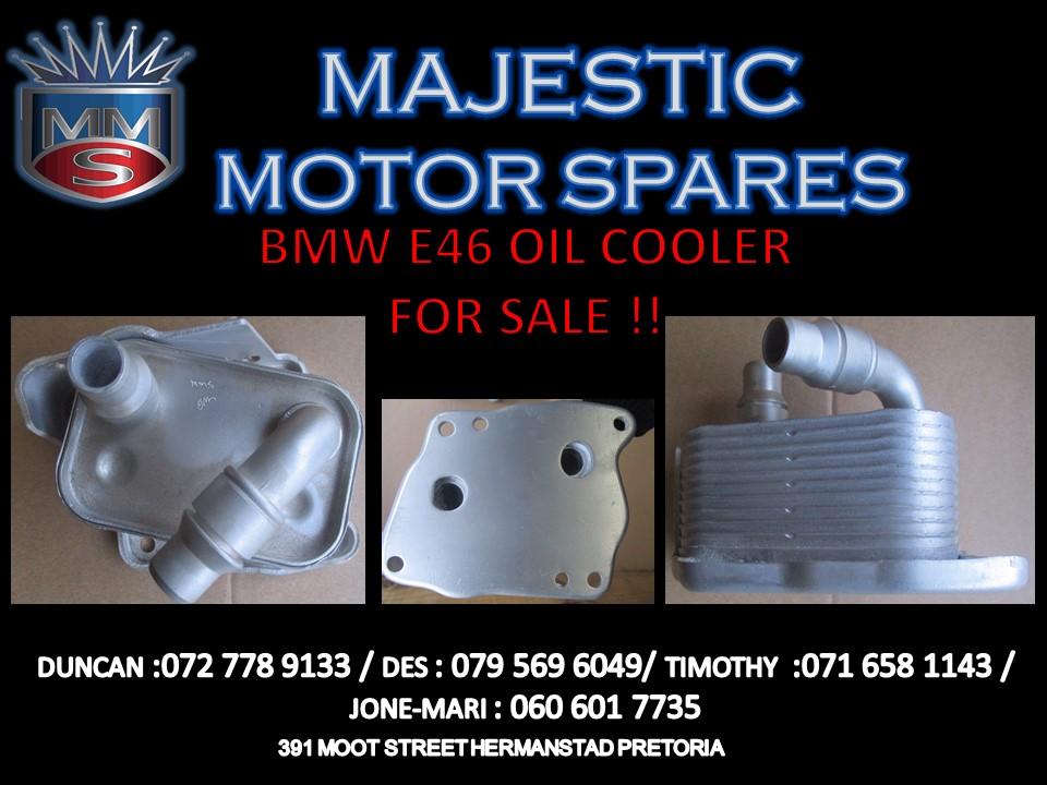 BMW E46 OIL COOLER