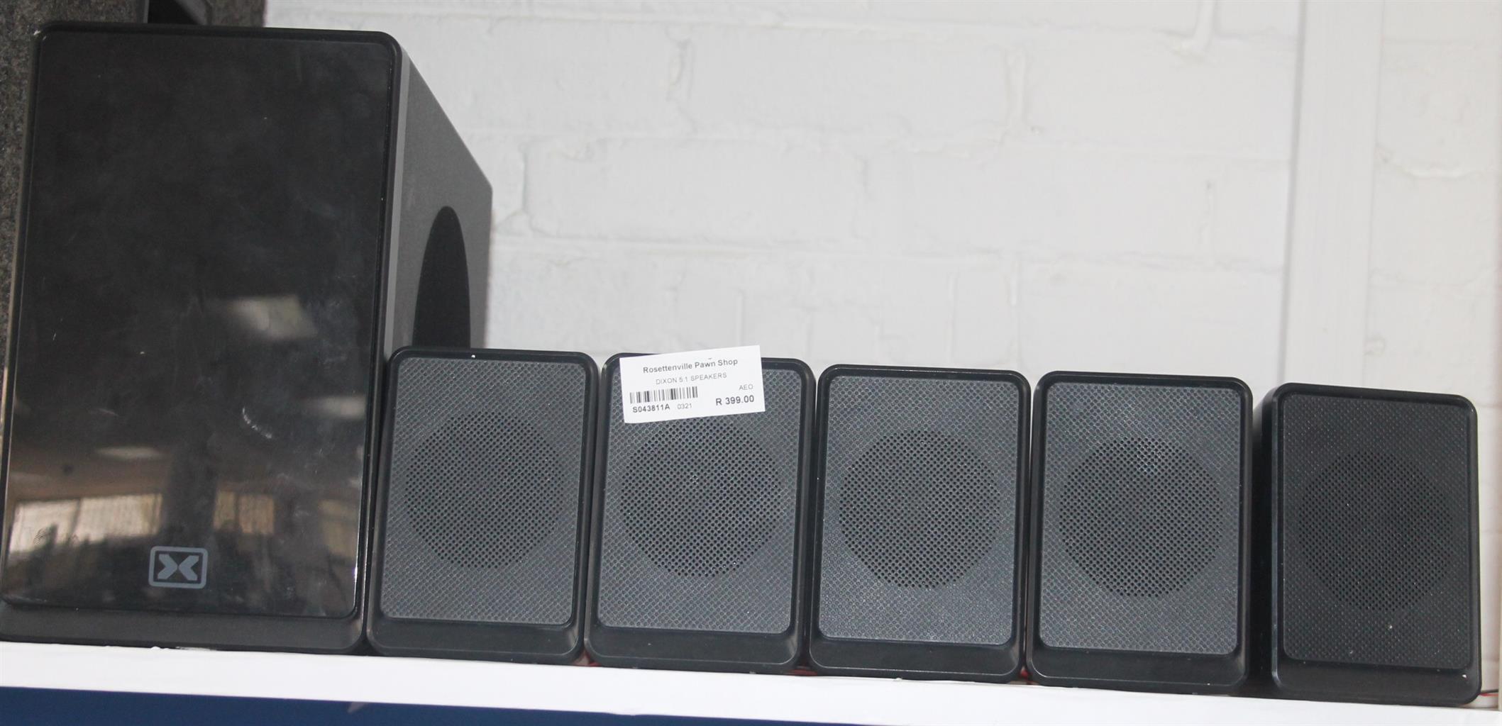 Dixon 5.1 speaker S043811A #Rosettenvillepawnshop