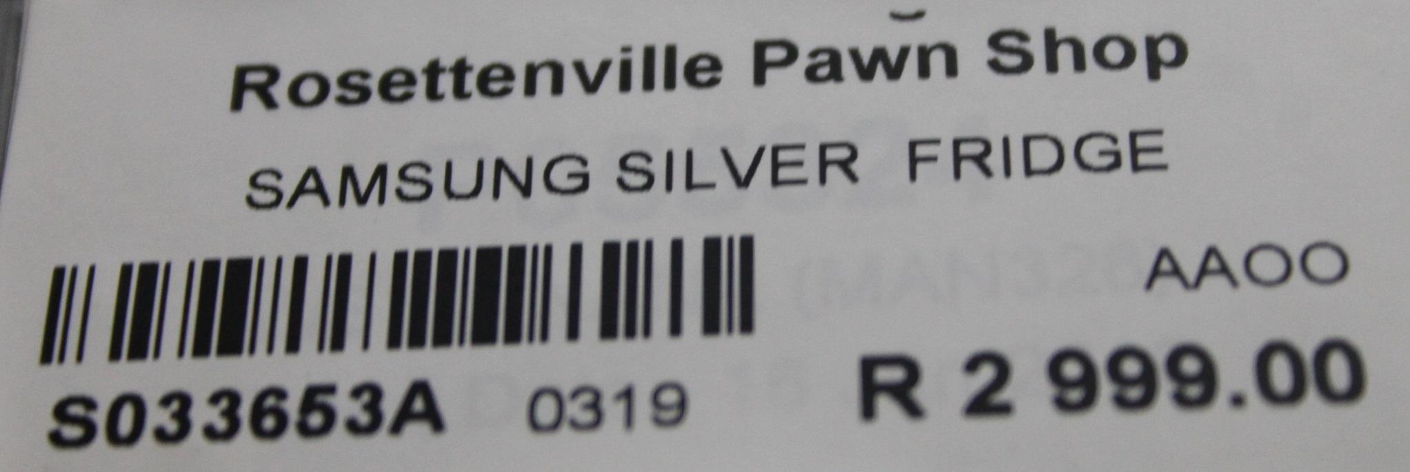 Samsung fridge S033653A #Rosettenvillepawnshop