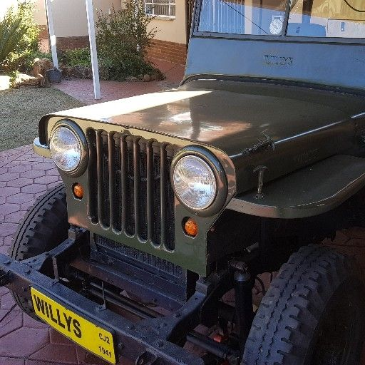 Willis jeep cj2 1941