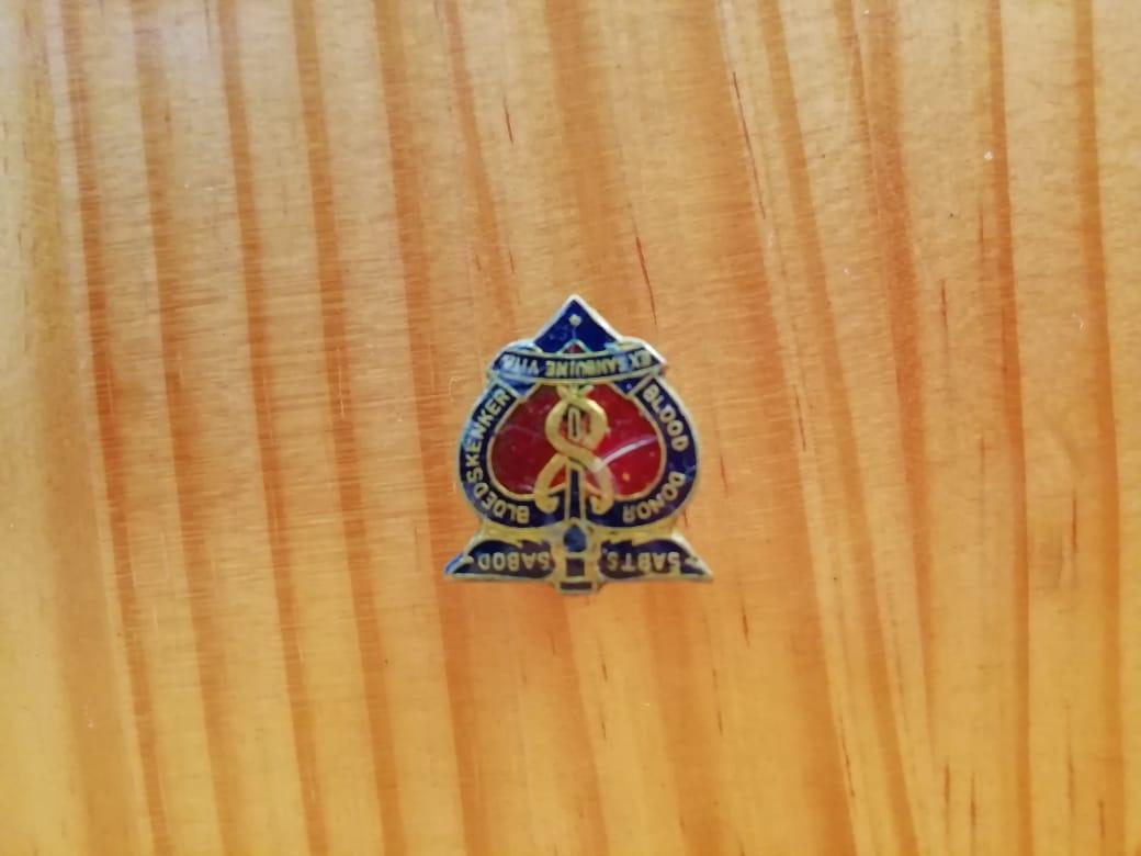 Insignia - Blood Donation Badge