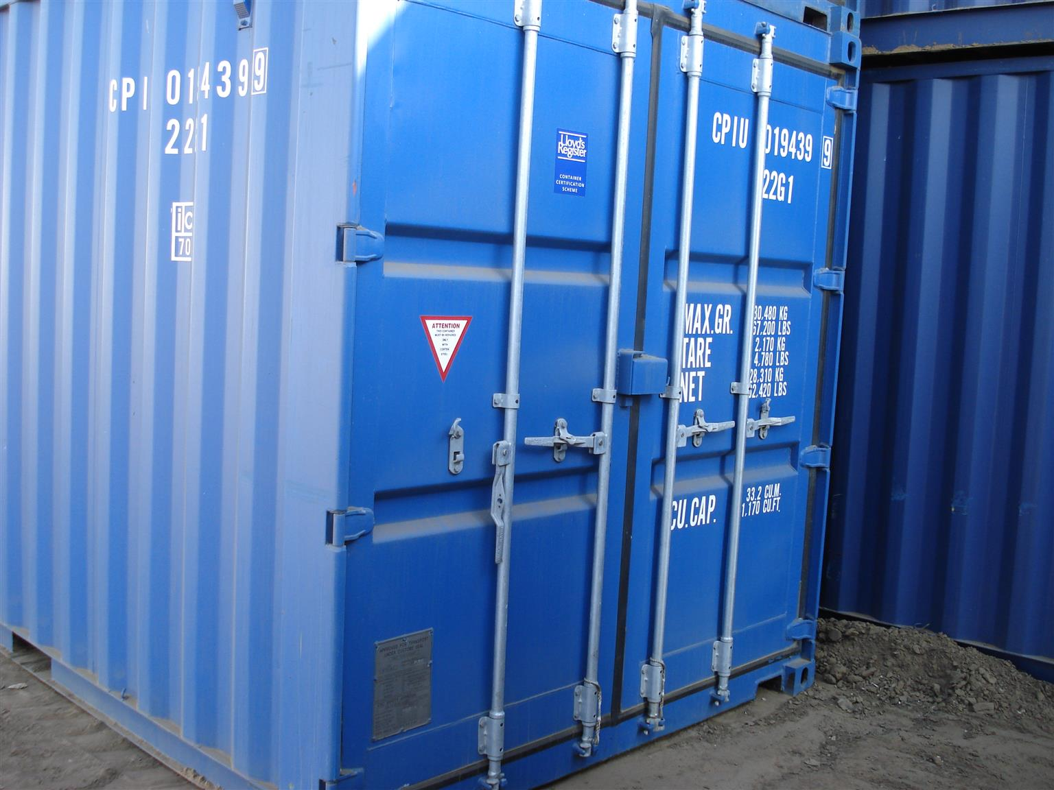 Marine Shipping Containers
