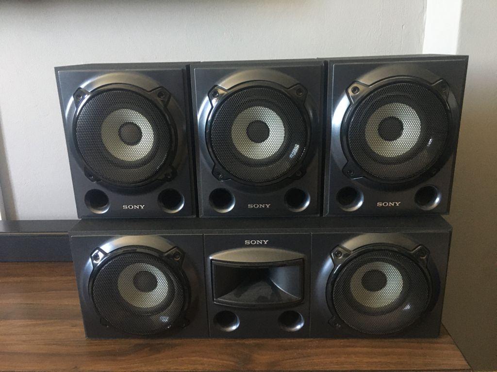 Sony Centre & Surround Speakers