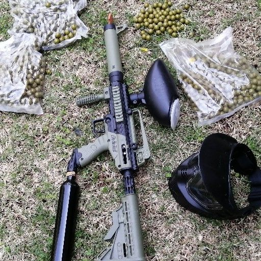 M16 paintball gun