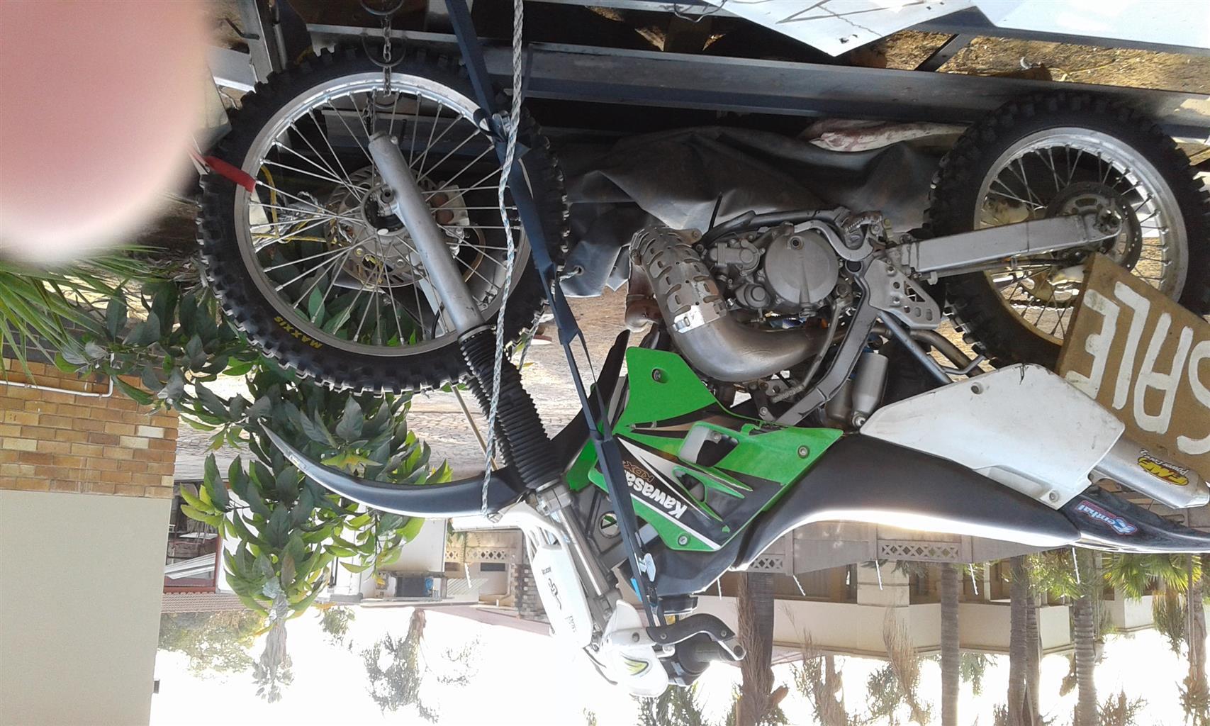 2002 Kawasaki KDX200H