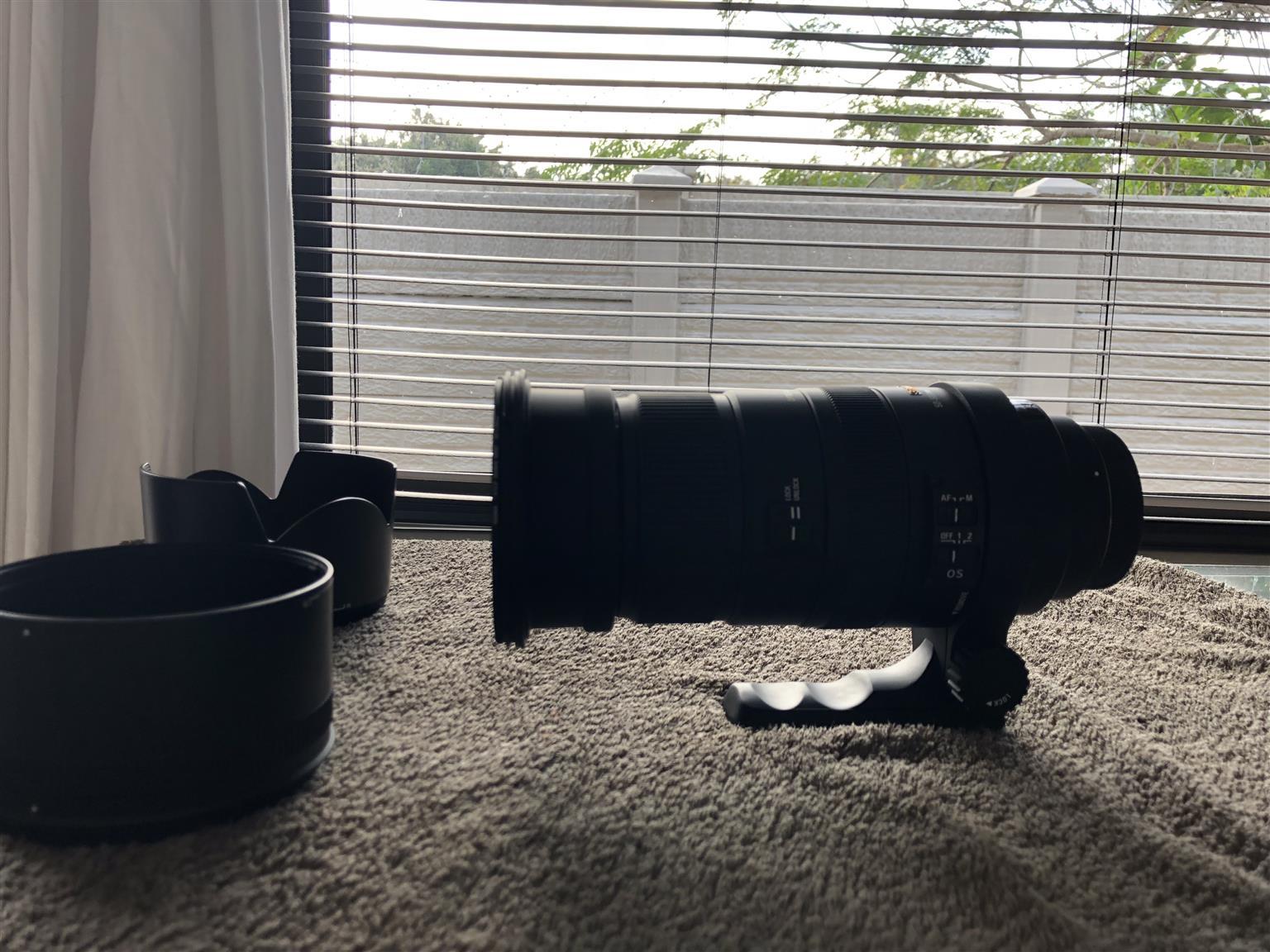 Sigma Canon mount 50-500mm