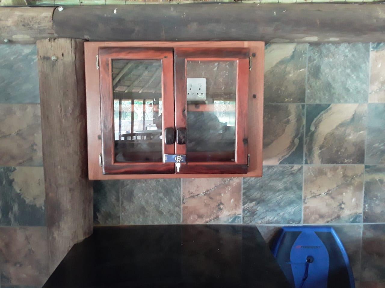 Glassdoor kitchen cupboard