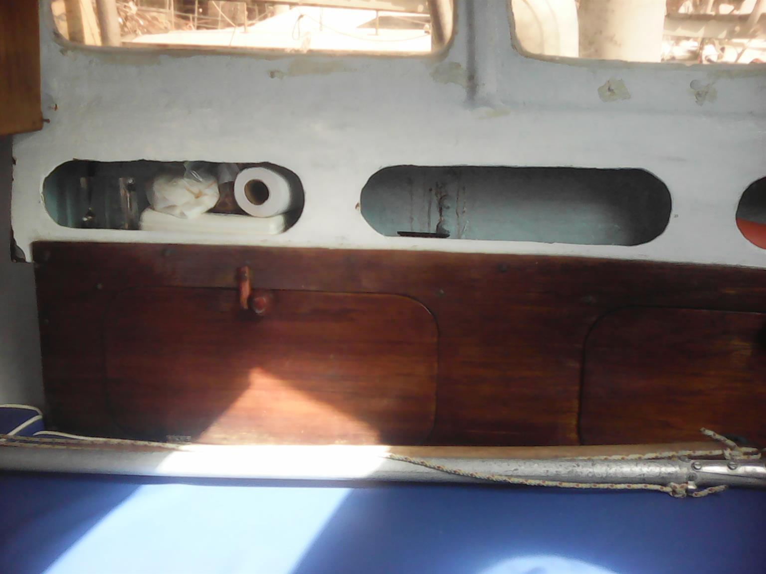 FIXED KEEL SAILBOAT 19 Foot C # .Trailer Motor Mast Sails
