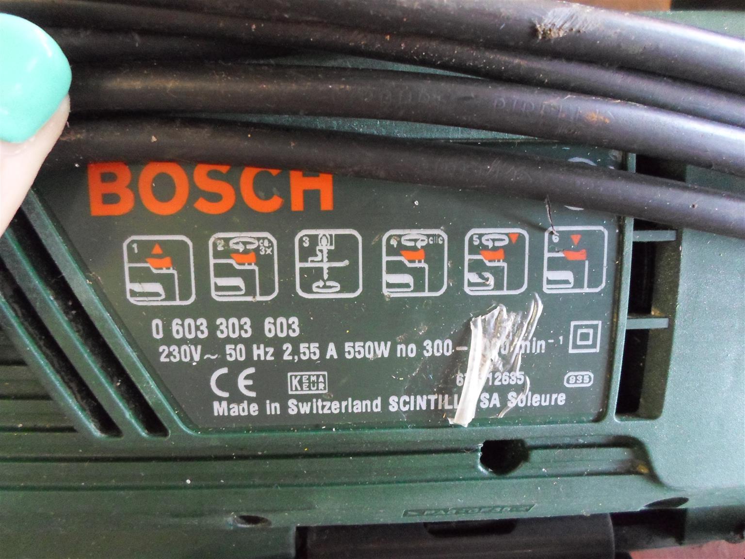 550W Bosch PST 700 PAE Jig Saw