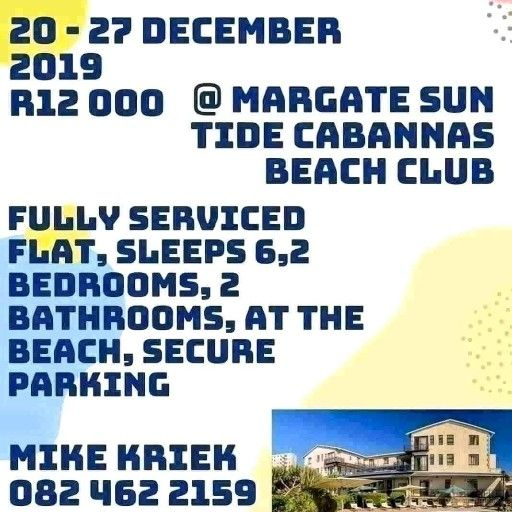 December holiday accommodation in margate