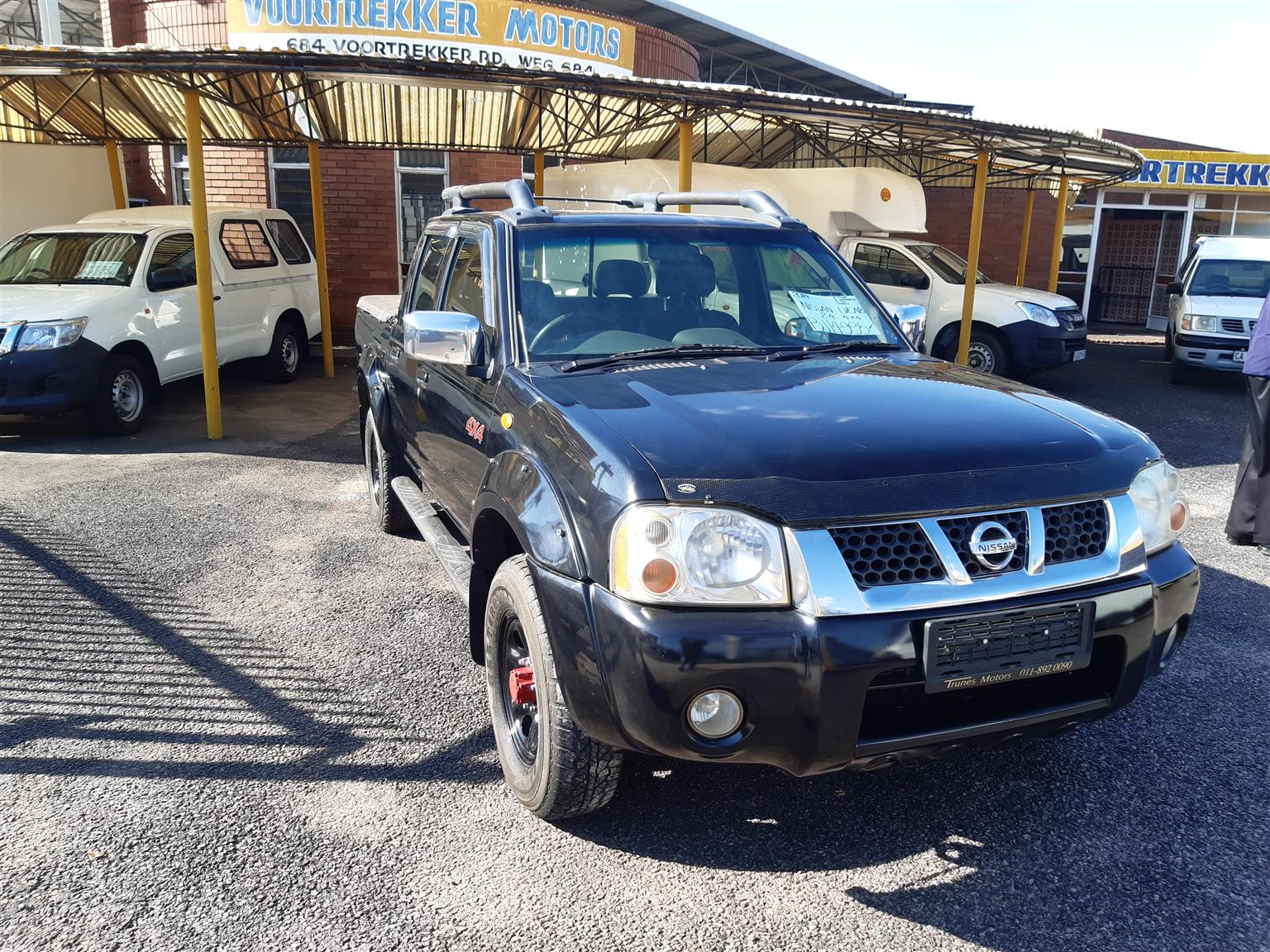 Nissan Hardbody 2.4 4x4 d/c petrol