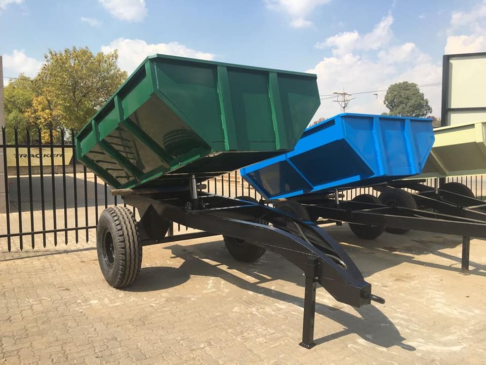 TIP TRAILERS 3 TON UP TO 10 TON