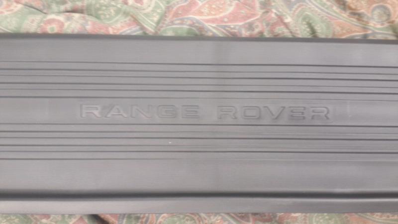 Range rover side steps