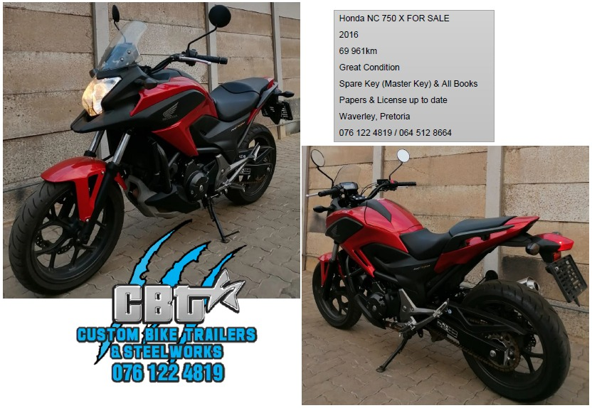 Honda NC 750X For sale