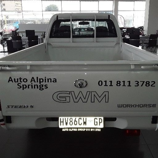 2019 GWM Steed 5 single cab STEED 5 2.2 MPi WORKHORSE P/U S/C