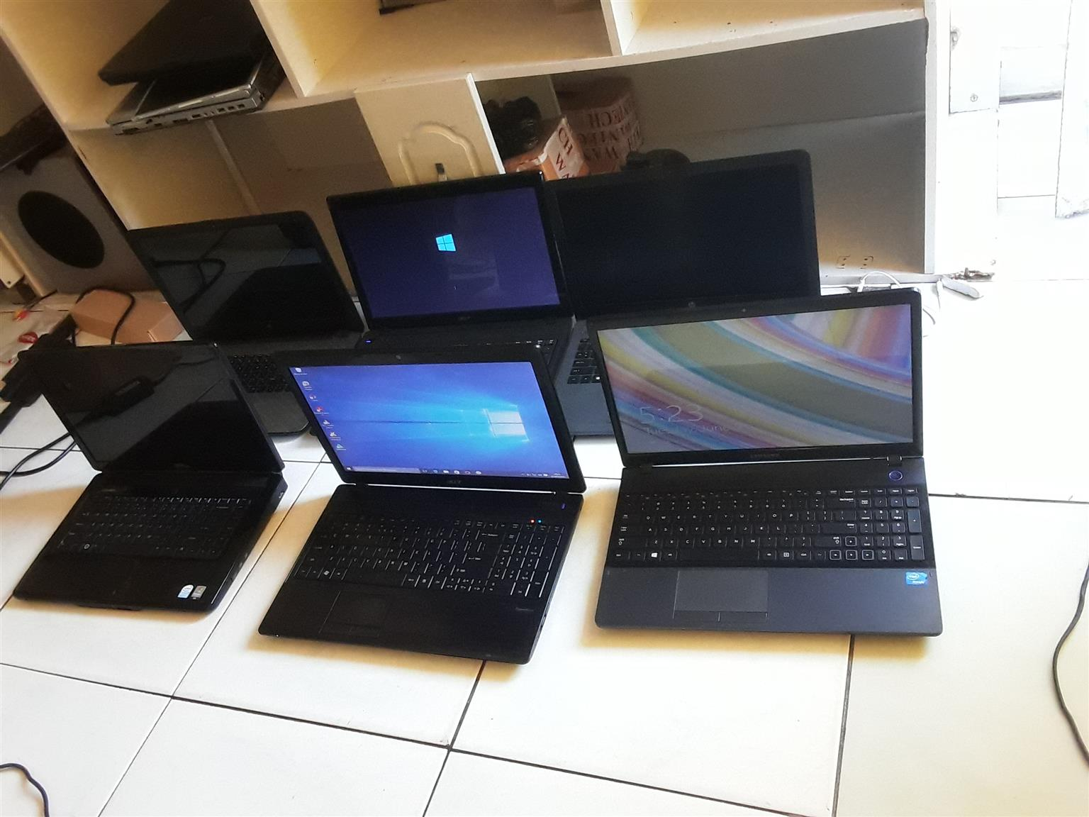 We sell laptops cheap working fine