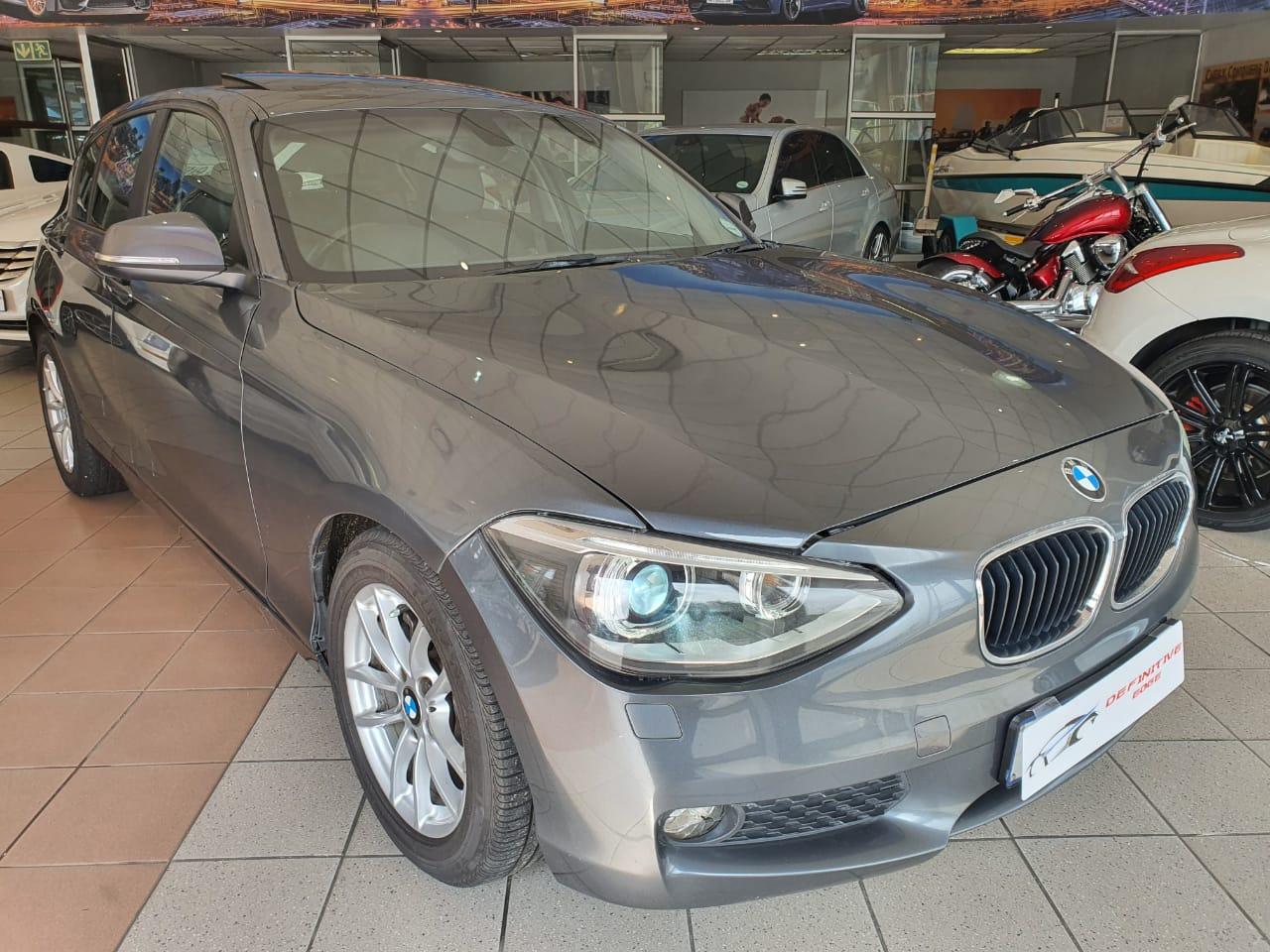 2012 BMW 1 Series 118i 5 door auto