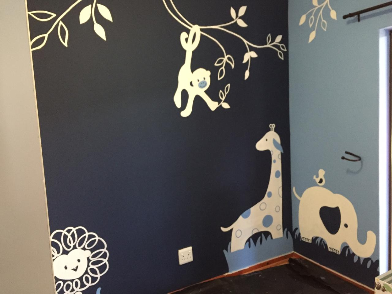 Lovely hand painted wall art